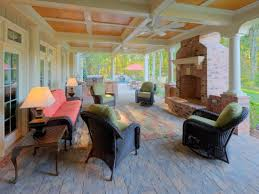 Covered Patio Decorating Ideas by Elegant Interior And Furniture Layouts Pictures 37 Fall Porch