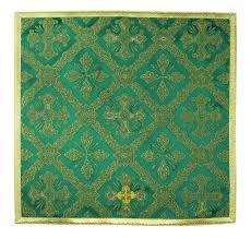 chalice veil chalice veil v z50 green burse maniple chalice veil ornaty