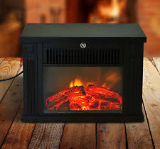 Led Fireplace Heater by White Mdf Standing Inset Electric Fireplace Heater Fire Mantel Led
