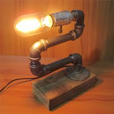 edison table lamp of vintage