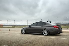 bagged mercedes wagon bmw m5 f10 bagged with air suspension on avant garde m621 wheels