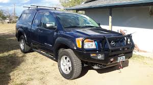 nissan titan king shocks 2012 nissan titan pro 4x with arb winch bumper get out project