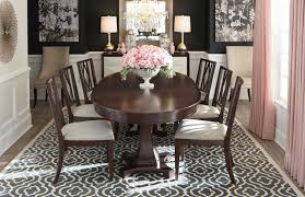 Presidio Oval Dining Table By Bassett Furniture Contemporary - Bassett dining room