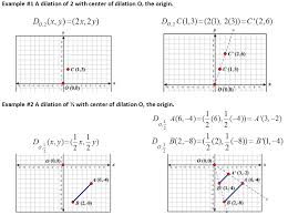high geometry common core g srt a 1 dilation properties