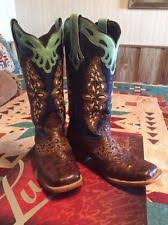 womens cowboy boots size 9 1 2 lucchese low 3 4 in to 1 1 2 in heel s us size 9 ebay