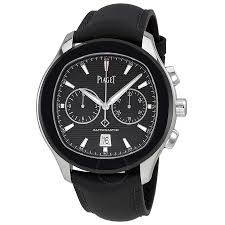 piaget watches prices piaget polo s black horizontal automatic men s chronograph