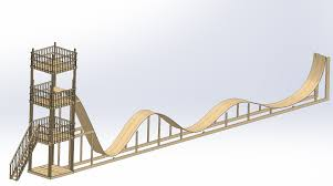 buildits in progress roller coaster mechanical design how to