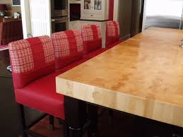 Kitchen Island Wood Countertop End Grain Wood Countertops Brooks Custom