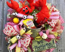 crawfish decorations crawfish decor etsy