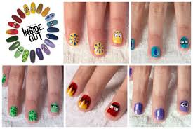 new inside out printable activities nail art board game