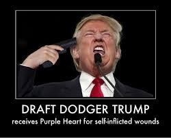 Provocative Memes - draft dodger trump meme dodger best of the funny meme