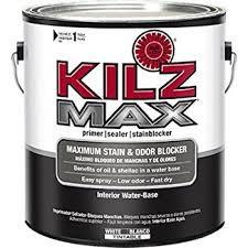 amazon com kilz max maximum stain and odor blocking interior