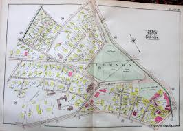 Chicago Ward Map 1910 by Antique Maps And Charts U2013 Original Vintage Rare Historical