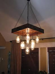 How To Make Mason Jar Chandelier 1000 Ideas About Mason Jar Chandelier On Pinterest Jar For Mason