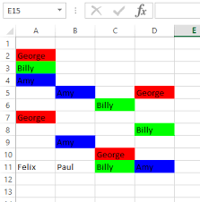 excel 2010 vba highlight with different colors cells with