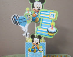 baby mickey 1st birthday mickey 1st birthday etsy