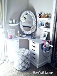 makeup storage ideas for small spaces design bathroom dinning small