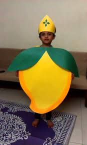 safa gudiya as mango for fancy dress competition youtube