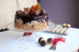 sweet frosting ferrero rocher cake