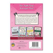 hen night party games fun scavenger hunt game for hen night hen