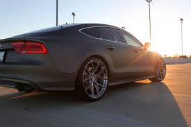 Audi Q7 Matte Black - wotd sema edition s7 sunset fourtitude com