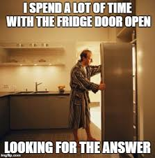 Fridge Meme - deep thoughts imgflip
