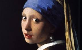 vermeer earring girl with a pearl earring by johannes vermeer galleryintell
