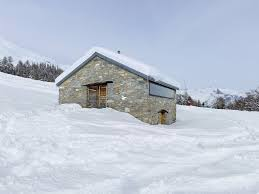 house barn gaudin house barn transformed into a small cabin in the swiss alps