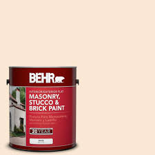Behr Chipotle Paste by Behr 1 Gal Or W5 Almond Milk Flat Interior Exterior Masonry