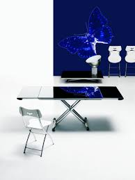 magic transformable dining table 74cm by ozzio design