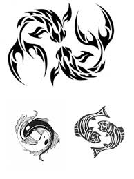 tribal tattoo designs what is the future of tribal tattoos pisces tattoos great design for zodiac tattoos tribal pisces