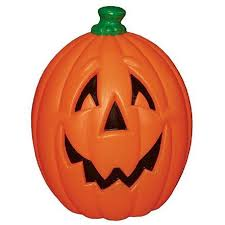 general foam plastics 23 light up pumpkin scary decor