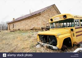 Wyoming travel buses images United states wyoming shoeshone native reservation wrecked bus jpg