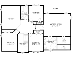 28 home design layout single storey home design plan the