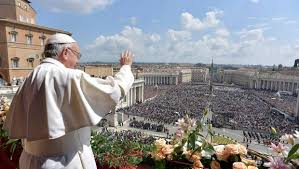 easter occasion speech pope francis on easter cling to faith despite wars sickness