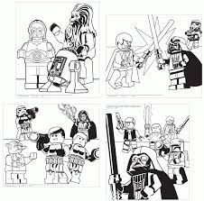 lego star wars coloring sheets kids coloring