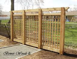 garden lattice ideas bower woods llc custom garden structures