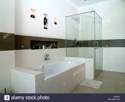 his and her bathroom modern bathrooms tiled in white and brown tiles his and hers wash