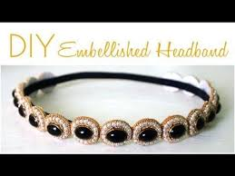 hairstyles with haedband accessories video diy gatsby inspired how to diy great gatsby embellished headband