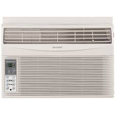 Window Ac With Heater Sharp Afs60rx Energy Star 6 000 Btu Window Air Conditioner With