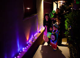free images light night color autumn halloween family