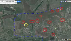 putin war google earth shows russian buk that shot down ukrainian