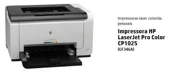 Top Laser HP Color LaserJet Pro CP1025 - CF346A - USB HP CP1025  #XF49