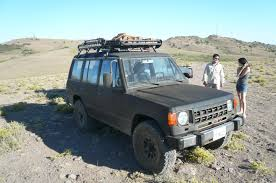 survival truck gear spotted u2026 mitsubishi montero ls nice mods west county explorers