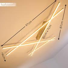 Wohnzimmerleuchten Dimmbar Deckenlampe Led Design Küchen Strahler Flur Schlaf Wohn Zimmer