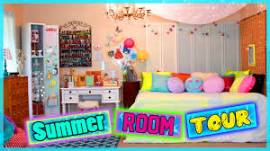 summer room tour diy room decor ideas glitterforever17 youtube