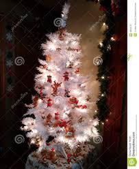 Teddy Bear Christmas Tree Ornaments by White Teddy Bear Christmas Tree Stock Photo Image 48642767