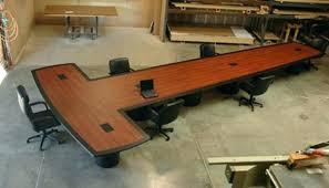 T Shaped Desks Large Home Office Desks T Shaped Desk Image For With Hutch