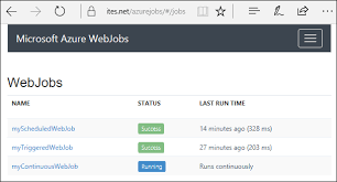 How To Do A Simple Resume For A Job by Run Background Tasks With Webjobs In Azure App Service Microsoft