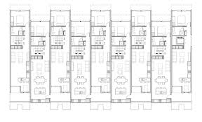 Modern Row Houses - row house modular plans modern hd